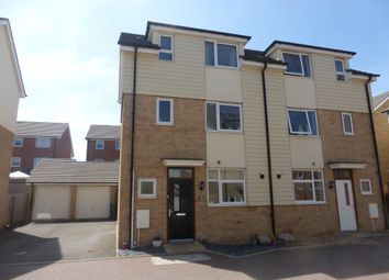 Thumbnail 4 bed semi-detached house for sale in Sylvania Gardens, Brooklands, Milton Keynes
