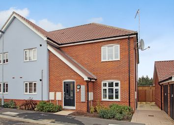 Thumbnail 2 bed flat for sale in Newbolt Close, Stowmarket