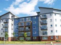 Thumbnail 2 bed flat to rent in Scapa Way, Stepps, Glasgow