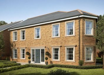 Thumbnail 5 bed detached house for sale in Plot 71, Mansion Gardens, Penllergaer, Swansea