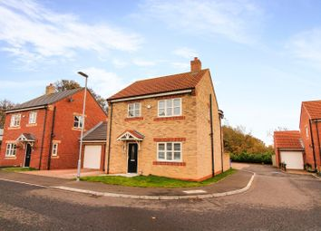 Thumbnail 3 bed detached house for sale in Delaval Court, Seaton Delaval, Whitley Bay