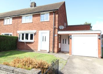 Thumbnail 3 bed semi-detached house for sale in Sandringham Crescent, Worksop