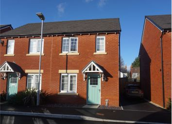 Thumbnail 2 bed semi-detached house for sale in Oakfield Grange, Cwmbran
