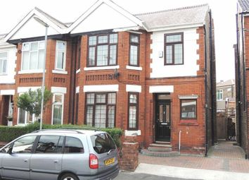 Thumbnail 5 bedroom semi-detached house for sale in Sunny Bank Road, Longsight, Manchester