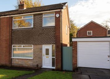 Thumbnail 3 bedroom semi-detached house for sale in Ellesmere Road, Morris Green, Bolton, Lancashire.