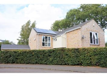 Thumbnail 4 bed detached house for sale in Field Close, Huntingdon