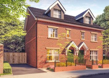 Thumbnail 4 bed semi-detached house for sale in Saddlecote Close, Manchester