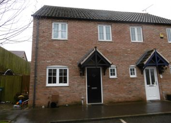 Thumbnail 3 bed semi-detached house for sale in Meldrum Drive, Gainsborough