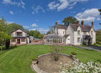 Thumbnail 5 bed country house for sale in Pool Quay, Welshpool