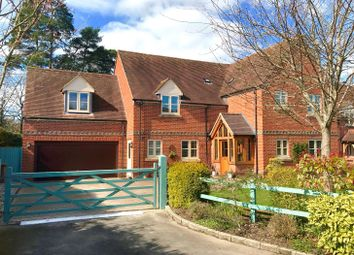 Thumbnail 5 bedroom detached house for sale in Coombe Corner, Highclere, Newbury