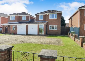 Thumbnail 4 bed link-detached house for sale in Mill Road, Murrow, Wisbech