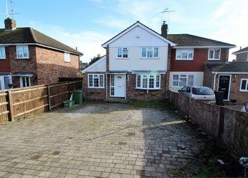 Thumbnail 3 bedroom semi-detached house for sale in Fairford Road, Tilehurst, Reading, Berkshire
