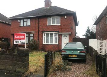 Thumbnail 2 bed semi-detached house for sale in Dangerfield Lane, Darlaston, Wednesbury