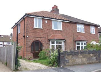 Thumbnail 3 bedroom semi-detached house for sale in Aurania Avenue, Norwich, Norfolk