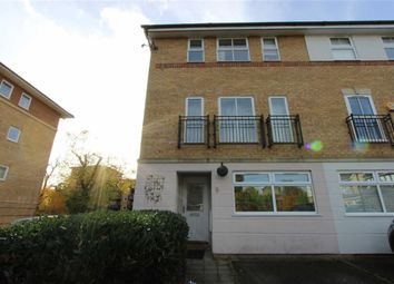 Thumbnail 4 bed link-detached house to rent in Radstock Close, London