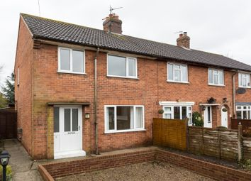 Thumbnail 3 bed end terrace house for sale in Back Lane, Helperby, York