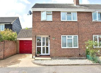 Thumbnail 3 bed semi-detached house for sale in Barnston, Dunmow, Essex
