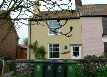 Thumbnail 2 bed cottage to rent in The Green, Stokesby, Great Yarmouth