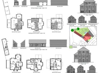 Thumbnail 5 bedroom detached house for sale in Levens Hall Drive, Westcroft, Milton Keynes