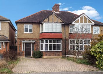 Thumbnail 3 bed semi-detached house for sale in Newbolt Avenue, Cheam, Sutton