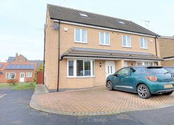 Thumbnail 3 bed semi-detached house for sale in Moorland Way, Epworth, Doncaster