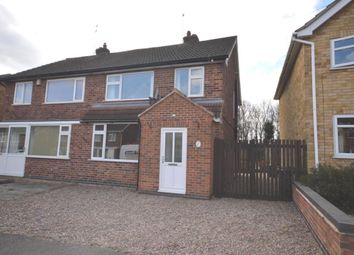 Thumbnail 3 bed semi-detached house for sale in Cumberwell Drive, Enderby, Leicester