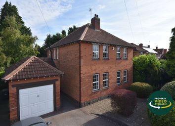 Thumbnail 4 bed detached house for sale in Evington Lane, Evington, Leicester
