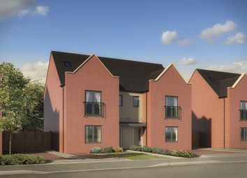 "Thumbnail 4 bed semi-detached house for sale in ""The Lumley"" at St. Catherine Road, Basingstoke"