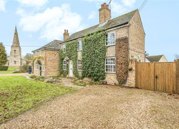 Thumbnail 3 bed detached house for sale in The Green, Winwick, Huntingdon, Cambridgeshire