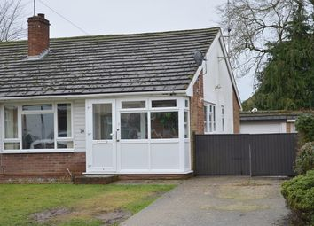 Thumbnail 2 bed semi-detached bungalow for sale in York Road, Ash