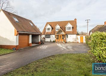 Thumbnail 4 bed detached house for sale in Chelmsford Road, Woodham Mortimer