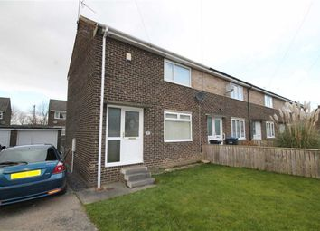Thumbnail 2 bedroom end terrace house for sale in Borrowdale Grove, Crook, Co Durham
