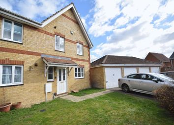 Thumbnail 3 bedroom end terrace house to rent in Coopers Way, Houghton Regis, Dunstable