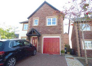 Thumbnail 4 bedroom detached house for sale in Edmondson Close, Brampton, Cumbria
