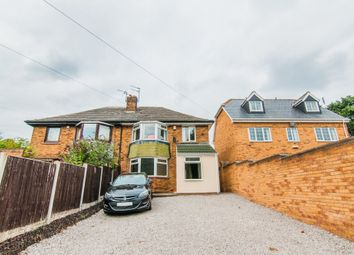 Thumbnail 3 bed semi-detached house for sale in Rakes Lane, Loversall, Doncaster
