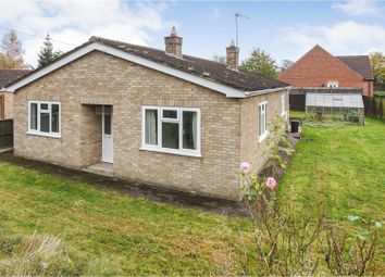 Thumbnail 3 bed detached bungalow for sale in Mill Road, Market Rasen