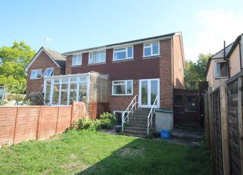 Thumbnail 4 bed semi-detached house for sale in Budebury Road, Staines-Upon-Thames