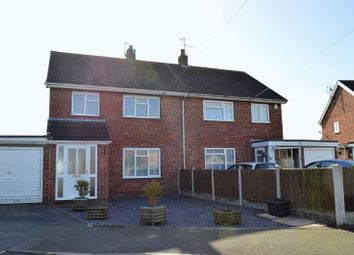 Thumbnail 3 bed semi-detached house to rent in St. Michaels Way, Childs Ercall, Market Drayton