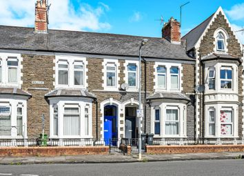 Thumbnail 2 bed flat for sale in Neville Street, Cardiff