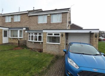 Thumbnail 3 bed semi-detached house to rent in Melrose Avenue, Seaton Delaval, Whitley Bay