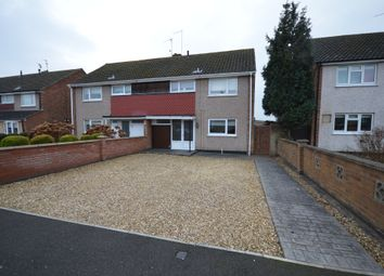 Thumbnail 3 bed semi-detached house for sale in Newark Drive, Corby