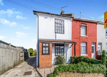 Thumbnail 2 bed end terrace house for sale in Walderslade Road, Chatham, Kent