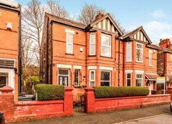 Thumbnail 3 bed semi-detached house for sale in Woodland Road, Burnage, Manchester, Greater Manchester