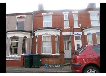 Thumbnail 5 bed terraced house to rent in Kensington Road, Coventry
