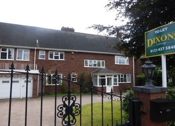 Thumbnail 7 bed detached house to rent in Hamilton Avenue, Harborne, Birmingham