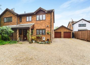 Thumbnail 4 bed detached house for sale in Ramsey Road, Pondersbridge, Huntingdon