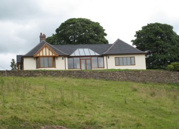 Thumbnail 4 bed detached bungalow to rent in White Lodge, Alley Lane, Rushton Spencer
