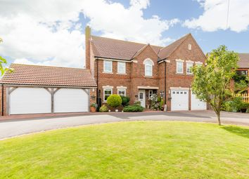 Thumbnail 5 bed detached house for sale in Station Close, Misterton, Doncaster