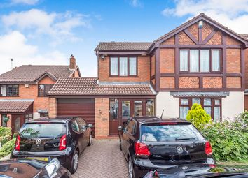 Thumbnail 4 bed detached house for sale in Longleat Drive, Milking Bank, Dudley