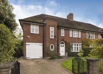 Thumbnail 4 bedroom semi-detached house for sale in Meadway, London